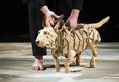 Handspring dog puppet