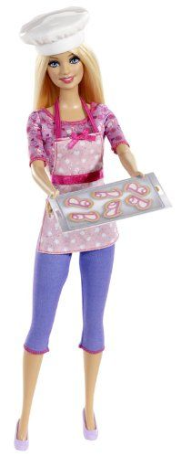 Barbie Careers Cookie Chef Fashion Doll Mattel http://www.amazon.com/dp/B00EAEWNY8/ref=cm_sw_r_pi_dp_PWcZtb0WF9YEW5F9