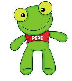 Divertido kit para Imprimir Gratis de Sapo Pepe. Frog Template, Frog Crafts, Elementary Spanish, Cute Frogs, Fabric Toys, Ideas Para Fiestas, Sanrio Characters, Animal Party, Pikachu