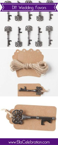 These vintage key bottle openers are perfect for your wedding day!  Explore rustic style vintage key bottle openers for wedding gifts, rustic beer opener, & bridal showers. | Unique Rustic Wedding Favors for Guests | Inexpesive Products FOR Women | Antique Gift Ideas for Bridal Shower + Adults | Cheap Party Decorations