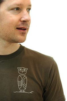 Made by Joel, Embroidered Owl Shirt