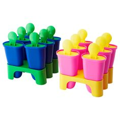 Will be purchasing some of these for the boozy frozen treats of summer -  Ice pop maker - IKEA