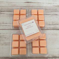 White Peach & Hibiscus, Wax Melts, Soy Wax Melts, Scented Wax Melts, Wax Tarts, Clamshell Melts, Hand Poured, Soy Wax Tarts, Gift For Women by StargazerHomeDecor on Etsy