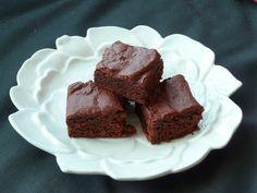 Brownie chocolat-framboise