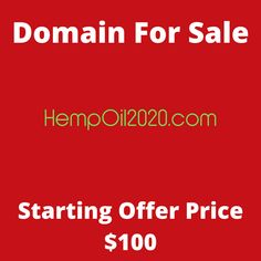 HempOil2020.com domain name for sale! Visit it now to purchase it!  #hempoil #oil #2020 #domainforsale #domainname #domains #domainsale #domainnameforsale #website K Store, Budgeting, Names, Website, Live, Tent, Homemade Tea, Luxury Watches, Bonsai