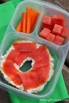 Work & School Mommy + Me Lunches  | packed in @EasyLunchboxes containers