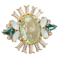 Get a little Art Deco with this Juicy Couture cocktail ring