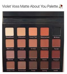 """Violet Voss """"Matte About You"""" eyeshadow palette"""