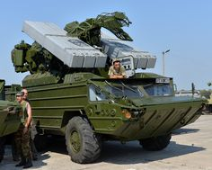 Transfer of the new military equipment to the Ukrainian Armed Forces, 9K33 «Osa» surface-to-air missile system, Chuhuiv military airfield, 12 August 2015 #ukraine #military #army