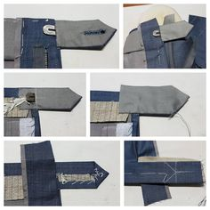 Making of a trousers closure without any machines. Tailoring Techniques, Sewing Techniques, Mens Pants Size Chart, Men Trousers, Men's Pants, Sewing Shorts, Bespoke Tailoring, Couture Sewing, Real Men Real Style