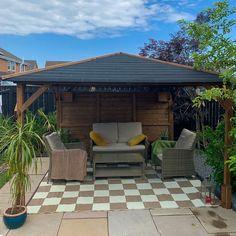 Utopia 3m x 3m Gazebo. Garden Buildings, Garden Structures, Wooden Gazebo, Pergola, Cabin, Outdoor Decor, House, Home, Outdoor Pergola