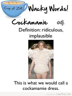 Cockamamie