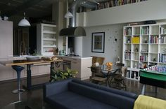 10 of the Loveliest Loft Kitchens from House Tours
