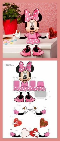 Ready Framed Canvas 40x50cm Minnie Mouse Single Sketched