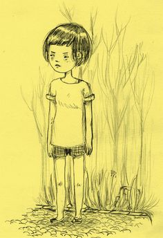 A little chinese girl doodle, because I have philosophy class on thrusdays, and we study chinese philosophy.