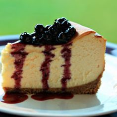 Best Cheesecake Recipe With Blueberry Topping