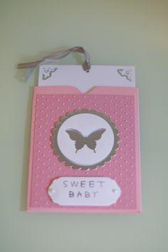 Eine süße Karte für ein süßes Baby von Janas Ideenreich auf DaWanda.com