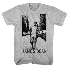 """Checkout our #LicensedGear products FREE SHIPPING + 10% OFF Coupon Code """"Official"""" James Dean T-Shirt womans - James Dean - T-shirt - Price: $24.99. Buy now at https://officiallylicensedgear.com/james-dean-t-shirt-womans-jd5149"""