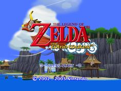 The Legend of Zelda: Wind Waker title screen