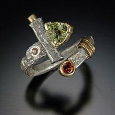 Richard B Elkin - Peridot ring