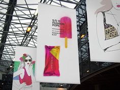 Spring/Summer 13 Fashion Pops, by Lara Atkinson