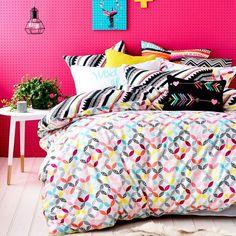 Ruckus Wilde - Bedroom Quilt Covers & Coverlets - Adairs (Queen $129.95 -> $59.95)