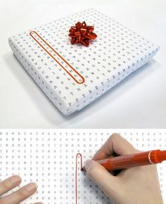 Word Search Wrapping Paper @ http://inspire.2ia.pl/post/4128968913/word-puzzle-universal-wrapping-paper