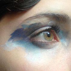 Alice Sky, la chica de los ojos en arte.