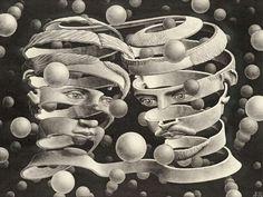 Bond of Union - Maurits Cornelis Escher, 1956