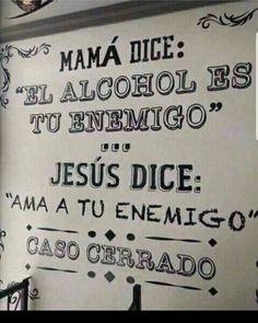 Tenemos un empate mom! We have a mom draw! Alcohol Humor, Funny Spanish Memes, Spanish Humor, Frases Humor, Me Quotes, Funny Quotes, Funny Memes, Party Knaller, Jokes Images