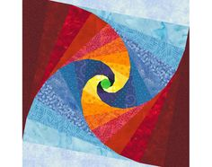 Mind's Eye paper pieced quilt block pattern INSTANT DOWNLOAD PDF. $3.00, via Etsy.