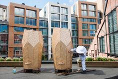 1 | Snøhetta-Designed Hives Make Urban Bee Farming Beautiful | Co.Design | business + design