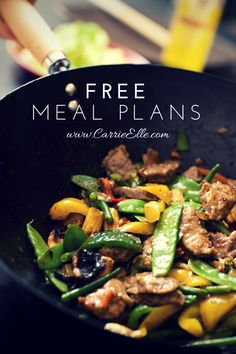 Free Weekly Meal Plan (and links to several other meal plans, too!)