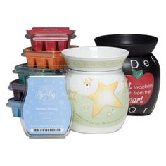 6 Scentsy Bars of your choice, plus 2 Mid-Size Premium Scentsy Warmers $75.00 (15 savings).