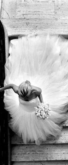 Great shot...shows the beauty of the dress!