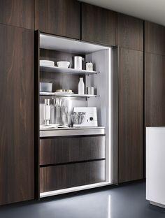 New One - Ernestomeda - cuisine dissimulée / hidden kitchen