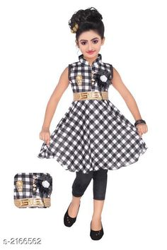 Checkout this latest Frocks & Dresses Product Name: *Adorable Kid's Girl's Frock* Sleeve Length: Sleeveless Pattern: Checked Multipack: Single Sizes: 7-8 Years Easy Returns Available In Case Of Any Issue   Catalog Rating: ★4.1 (1747)  Catalog Name: Cutepie Adorable Kid's Girl's Frocks Vol 5 CatalogID_287573 C62-SC1141 Code: 313-2166562-687