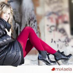 ¿Que te parecen estos botines de Mikaela? Zapatos hechos en España.