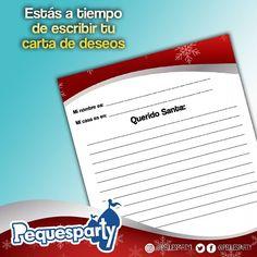 Entra a www.pequesparty.com y descarga nuestra carta para santa estás a tiempo de pedir tus regalos . . #pequesparty #maracaiboguia #cartaasanta #animacion #fiestanavideña #fiestainfantil #carta