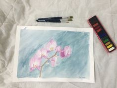 My First Attempt Using Watercolor