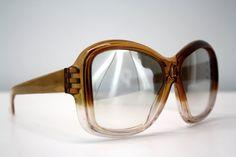 Vintage Oversize Reflective 70's Style Sunglasses by ELOFSON, $34.00