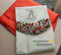 WhatsApp 9035330901 for hand embroidery material customization. No COD, No wholesale/bulk orders. Embroidery Neck Designs, Embroidery Stitches, Embroidery Materials, Kurti Patterns, Salwar Designs, Blouse Neck Designs, Embroidery Fashion, Neck Pattern, Woman Clothing