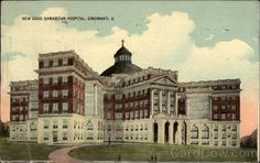 Cool old picture - Good Samaritan Hospital - Mom went to school here.