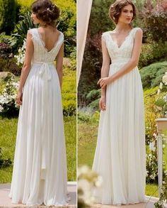 Afbeeldingsresultaat voor hippie chic wedding dress