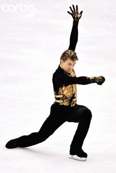 The Master - Four-time Men's World Figure Skating Champion, three-time Men's European Figure Skating Champion, and 2002 Men's Olympic Figure Skating Champion, Alexei Yagudin (Russia)... he was an unstoppable force to be reckoned with in '02.