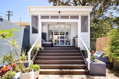 Back Verandah Outdoor Rooms, Outdoor Decor, Granny Flat, Tiny House, Living Spaces, Deck, Stairs, Construction, Gallery