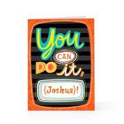 Wish someone good luck with the You Can Do It greeting card from Hallmark.
