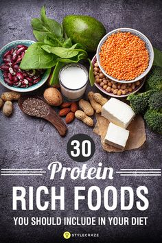 Top 30 Protein-Rich Foods You Should Include In Your Diet