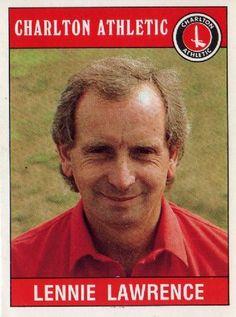 Lennie Lawrence - Charlton manager Charlton Athletic Football Club, Legends, England, Memories, Baseball Cards, Times, Trading Cards, Charlton Athletic F.c., Memoirs
