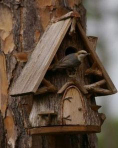 Very adorable birdhouse!